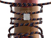 systeme des lacets des chaussures de marche lowa lady gtx wxl