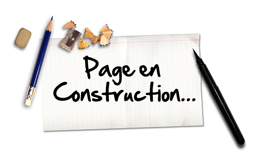 image page en construction