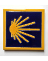 Carrelage céramique CAMINO (coquille jaune)