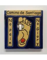 Magnet Saint Jacques de Compostelle