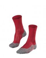 Chaussettes FALKE Mérinos Trekking TK5 Femme ruby