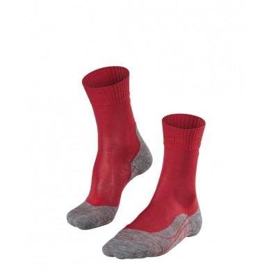 Chaussettes FALKE Trekking TK5 Femme ruby
