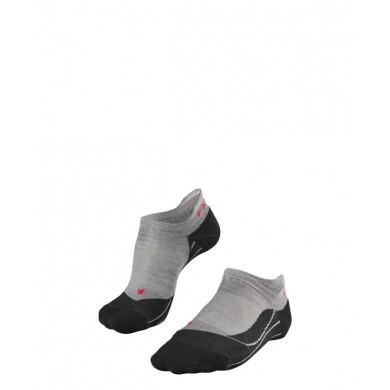 Chaussettes FALKE Trekking TK5 Invisible Femme light grey