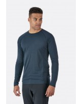 T-shirt RAB Manches Longues Forge LS Tee Couleur : Beluga (Homme)